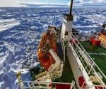 Pasajeros atrapados en la Antártida celebran el Año Nuevo
