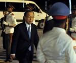 Llegó Ban Ki-Moon a Cuba para asistir a la Cumbre de la CELAC