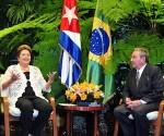 Recibió Raúl a la Presidenta de Brasil