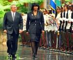 Recibió Raúl a la Primera Ministra de Jamaica
