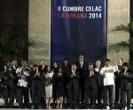 Presidentes de la CELAC en el Palacio de la Revolución