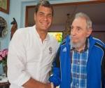 Resaltó Correa importancia de su encuentro con Fidel
