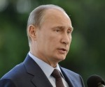 Vladimir Putin elegido político número uno del 2013 por la prensa mundial