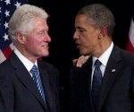 Obama y Bill Clinton se reúnen a puerta cerrada con senadores demócratas