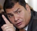 """Rafael Correa: """"Fidel es una leyenda viviente"""""""