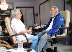 Sostiene Fidel prolongada conversación con Frei Betto