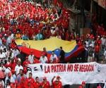 Trabajadores petroleros marchan en apoyo a la revolución bolivariana