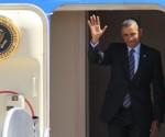 Obama llega a México para cumbre de América del Norte