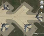 Las fuerzas nucleares estratégicas de EEUU captadas por Google Earth