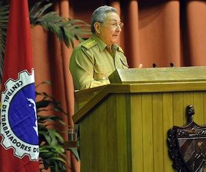 Discurso de Raúl en la clausura del XX Congreso de la CTC