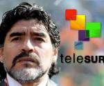 Maradona será comentarista del Mundial de Fútbol para TeleSur