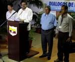 Las FARC presentan cambios en su delegación
