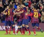 El Barcelona gana 4-1 y se coloca a un punto del Madrid