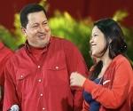 """María Gabriela Chávez a su padre: """"Te vivo en el amor de tu pueblo siempre"""""""